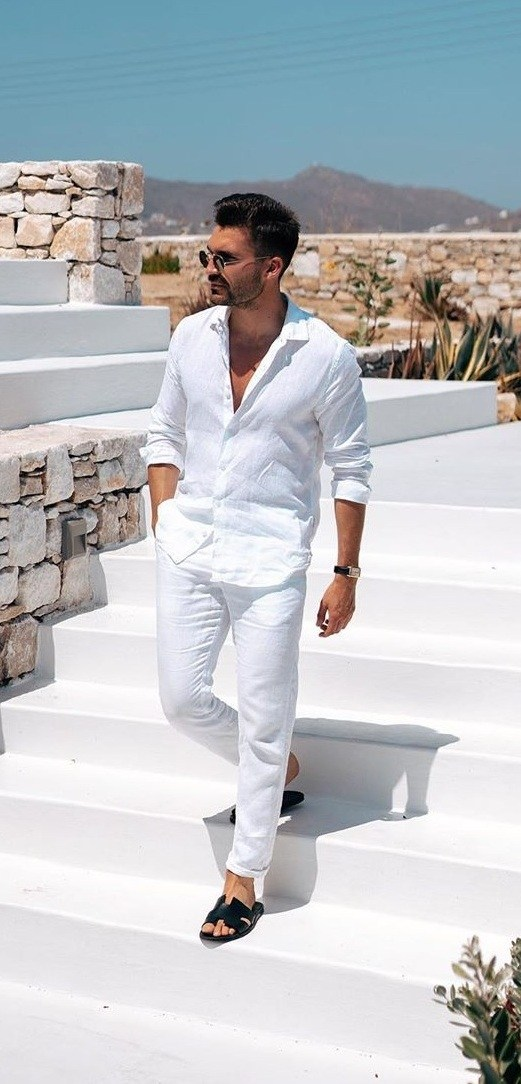 5 All White Outfit Ideas to Beat The Summer Heat
