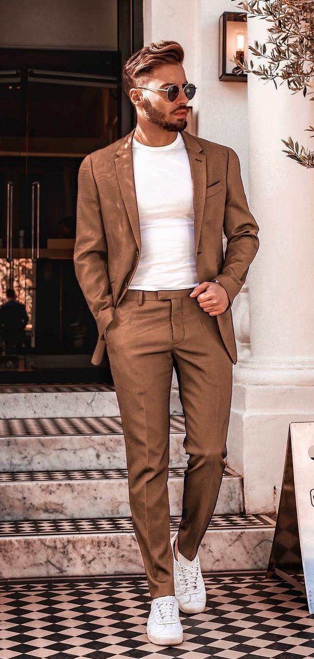 5 Dope Casual Suit Outfit Ideas