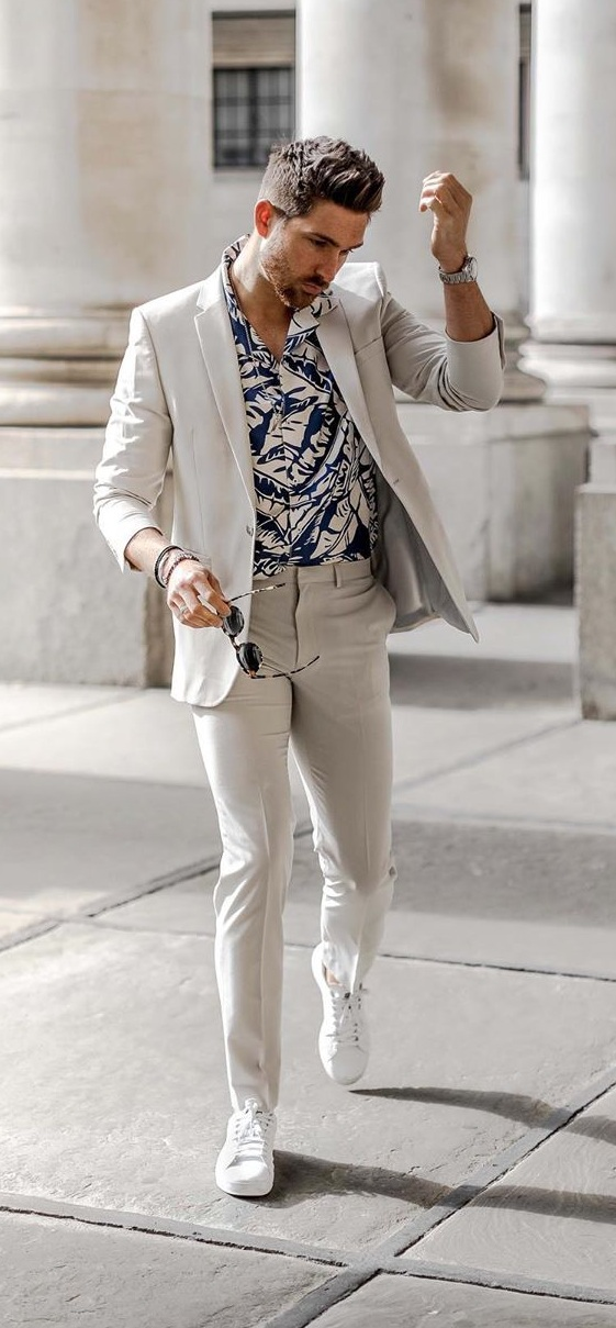 5 Dope Casual Suit Outfits For Men To Rock