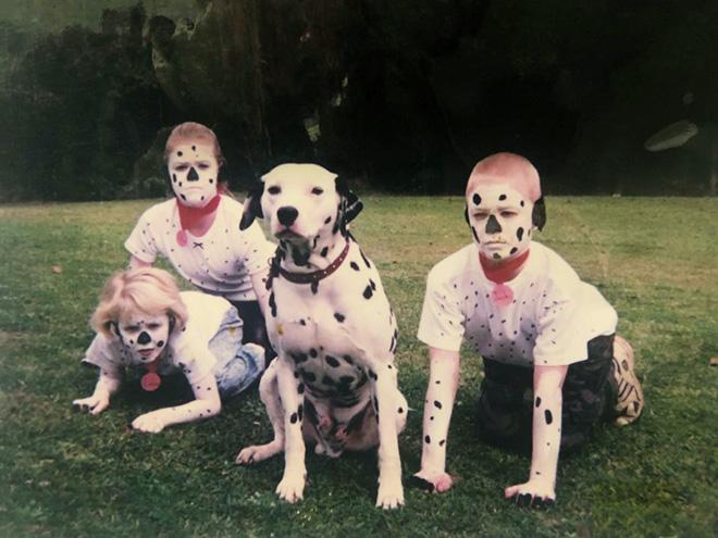 Awkward family photo.