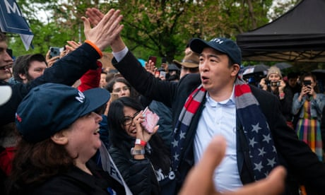 Andrew Yang wants to take the fight to Dana White's UFC