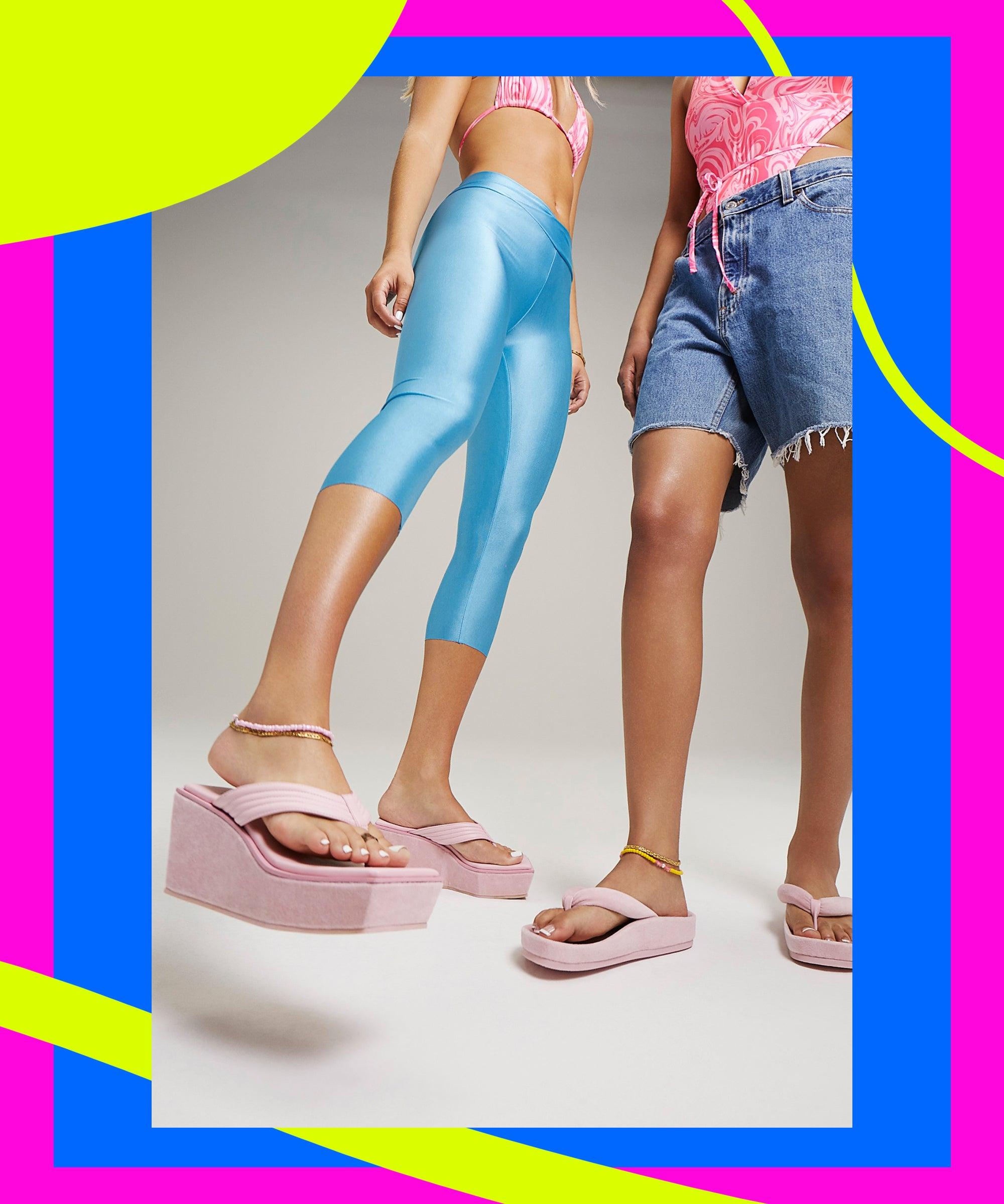TikTok's Favorite Bikini Brand Just Launched A Y2K Shoe Line
