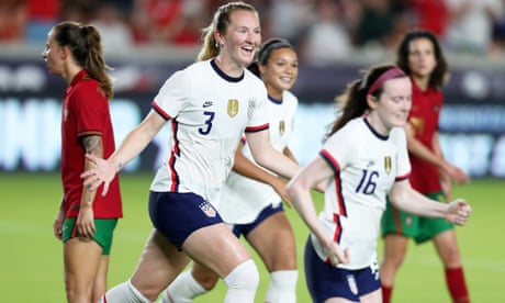 USWNT stretch unbeaten run to 40 games after win over Portugal