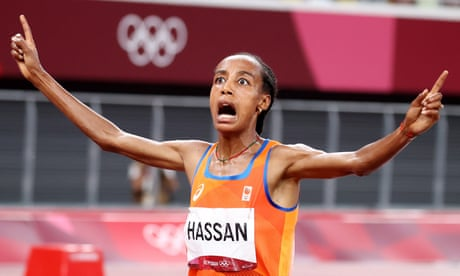 Tokyo 2020: Hassan takes 5000m gold, GB into hockey semis and more – live!