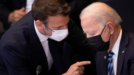 France wants 'concrete measures' from Biden after sub deal upset, says US must respect European sovereignty