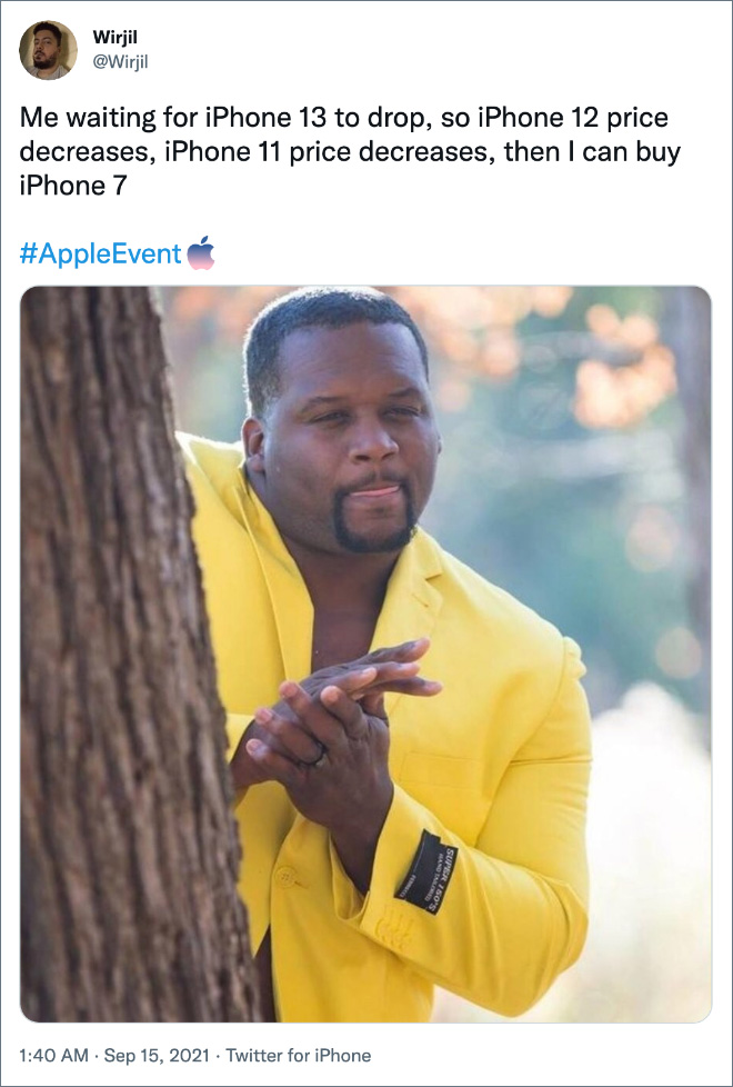 The Funniest Reactions To iPhone 13