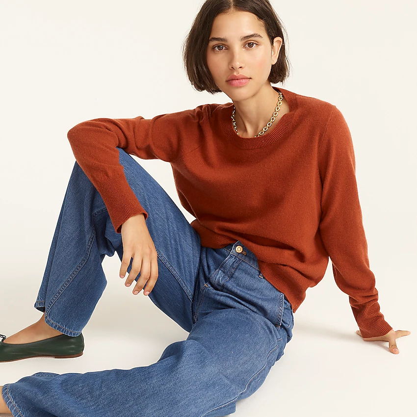 12 Cashmere Sweaters For Channeling Nancy Meyers' Movie Energy