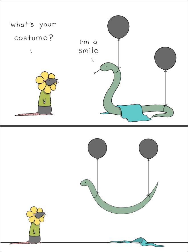 Light-Hearted Halloween Cartoons by Liz Climo