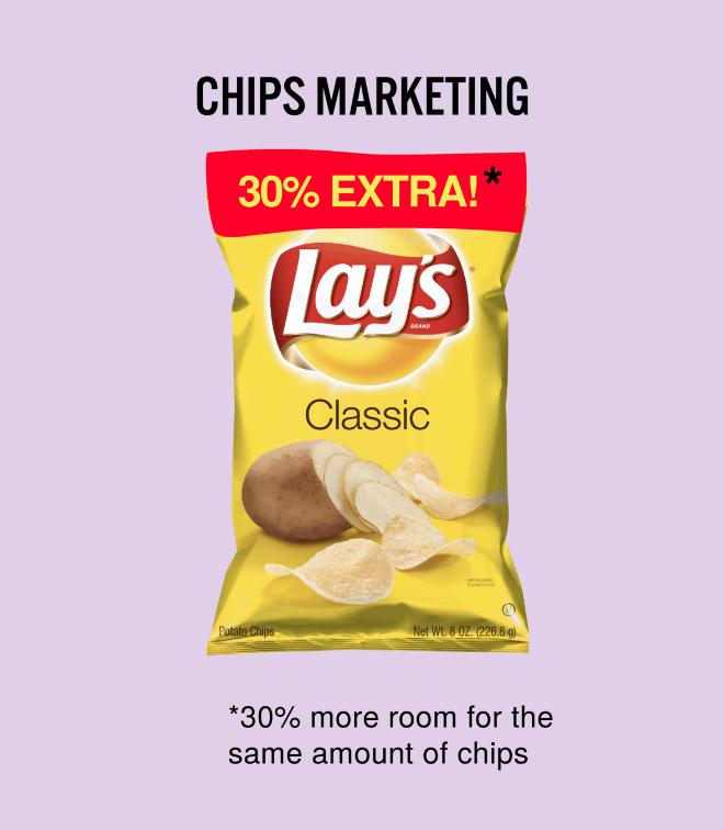 Chips marketing.