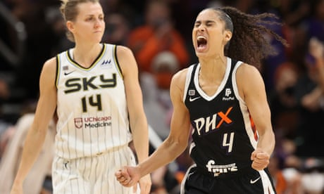 Phoenix burn Chicago in overtime to level WNBA finals at one game apiece