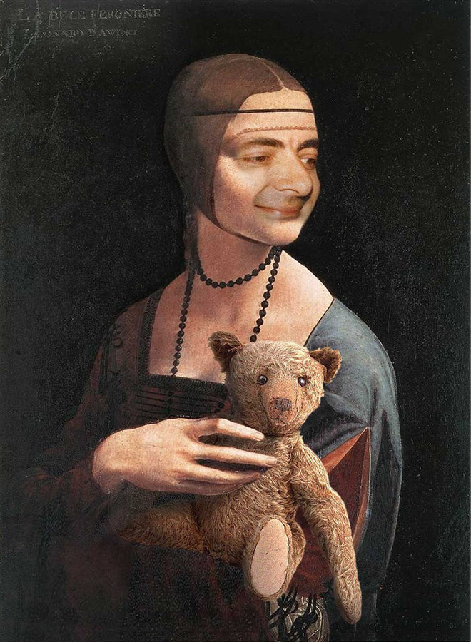 Classic Paintings Improved With Mr. Bean